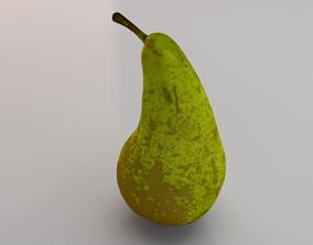 Photorealistic Pear 3D asset