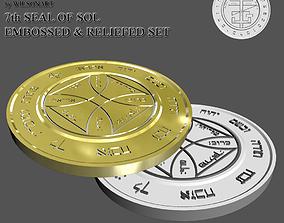 3D print model 7th Seal of Sol