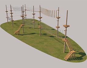 Rope Park 3D model