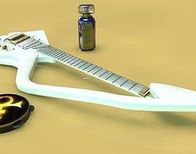 Prince C model Guitar 3D
