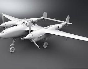 P38 Lightning Scale model