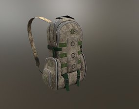 tactical backpack 3D model