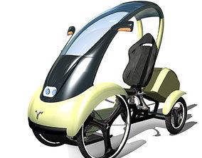 futuristici car 3D