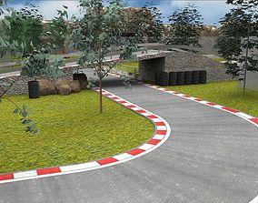 RaceTrack CIRCUIT 3D model