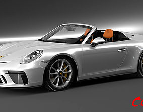 Porsche 911 Speedster 2020 3D model