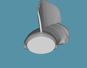 Edaphosaurus Novomexicanus Torso STL 3D print model