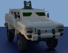 Tufan 4x4 MRAP Azerbaijan defense 3D