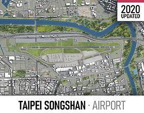 Taipei Songshan Airport - TSA 3D asset