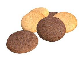 3D PBR Cookies