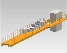 TOWER CRANE -Counter weight segment- 3D