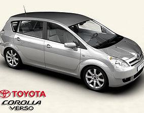 3D Toyota Corolla Verso