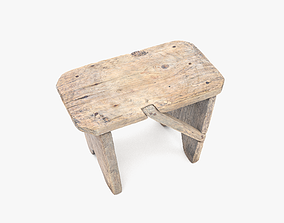 3D model Bench Small