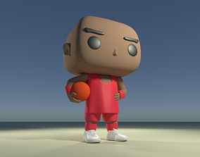 Custom Pop Basketball Player DIY Figure 3D Print