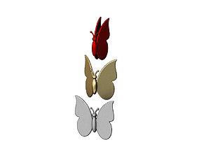 Simplistic butterfly model