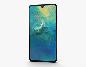 Huawei Mate 20 Midnight Blue 3D