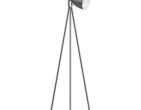 lighting Black Floor Lamp 3D Model