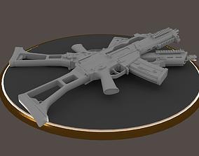 G36C carbine rifle Hi-Res 3D model