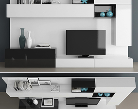 3D furniture Tv stand