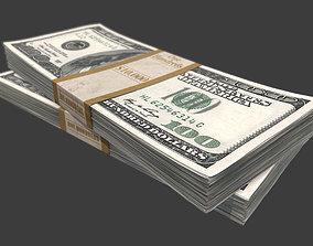 3D model Dollar Stack