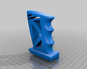 3D printable model Skeletonized fore-grip