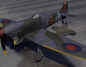 Hawker Tempest Mk-5 3D model