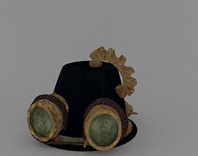 Steampunk Hat 3D asset