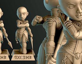 3D printable model Dora Milaje Okoye
