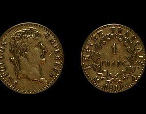 SOLDIER Napoleon Coin 3D