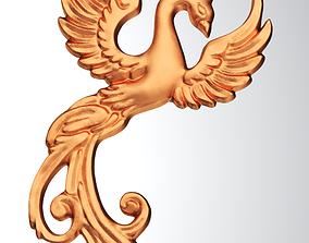obj Phoenix Pendant 3D printable model