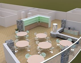 reception hall 3D