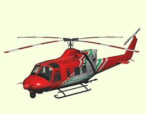 3D Fire rescue helicopter Helitack