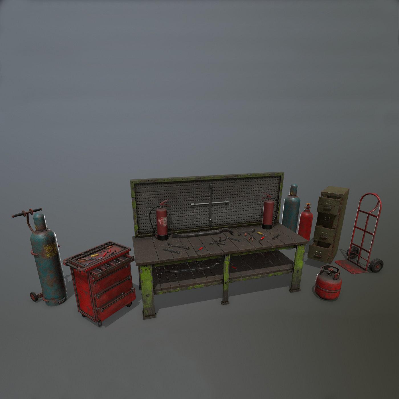 garage set
