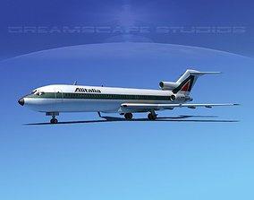 Boeing 727-200 Alitalia 3D