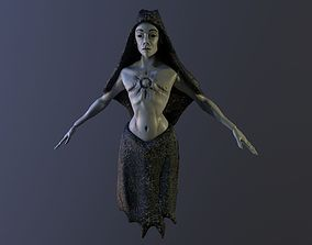 The Witch 3D asset