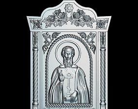 3D print model 63 RELIGION ICON St Sergius of Radonezh