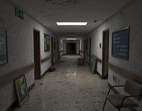 Abandoned Hospital Corridor 3D model