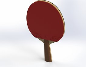 3D model 3d Ping Pong Paddle