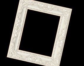 Beautifully embossed picture frame 3D print model