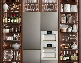 3D Kitchen cabinet with a trifle for the kitchen