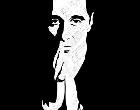 The Godfather - Al Pacino 3D