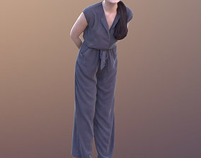 Francine 10358 - Window Shopping Casual Girl 3D asset