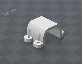 3D print model Dc motor Mount