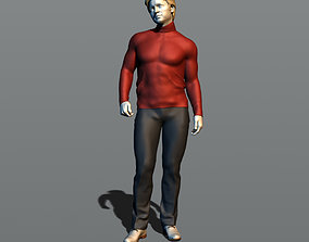 Guy in a turtleneck 3D print model