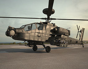 3D model Boeing AH-64 D