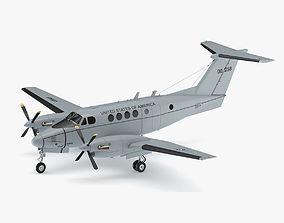 3D model Beechcraft C-12 Huron