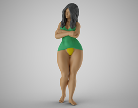 3D printable model Lonely and Bored Girl