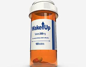 Pill Bottle 3D model pharmaceutical