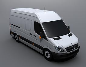 3D asset Mercedes-Benz Sprinter