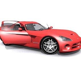 Dodge Viper GTSR 3D asset