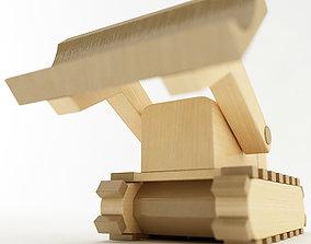 3D model Toy Bulldozer